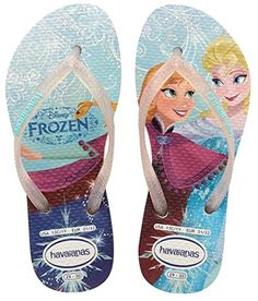 eef260c1b3f Havaianas White Princess Flip-Flop - Girls  amp  Boys