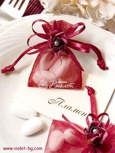 #organza #wedding #bonbonniere from www.violet-weddinginvitations.com and www.violet-bg.com