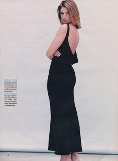 Usathebest 4 - Free Image Hosting at TurboImageHost Princess Caroline, Cindy Crawford, Marie Claire, Backless, Formal Dresses, 90s Models, Free Image, Germany, Magazine
