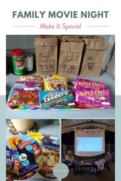 Try these fun family movie night ideas to make your next  – but here are a few ways to make it more special!