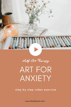 This easy self art therapy activity for anxiety relief will help you release some stress or tension, and feel renewed and refreshed at the end. No skills or experience necessary to benefit from doing…