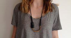 Chock A Block-Copper/Black by Maslo Jewelry