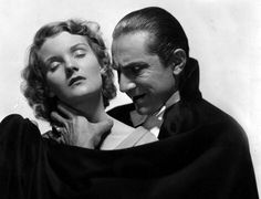 Still of Bela Lugosi and Helen Chandler in Dracula - vanha vampyyri Classic Horror Movies, Horror Films, Horror Fiction, Scary Movies, Good Movies, Lugosi Dracula, Tv Movie, Count Dracula, Weird Tattoos