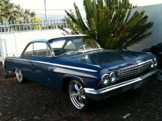 1962 Chevrolet Bel Air Sport Coupe - Muscle Cars
