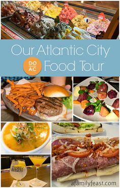 If you follow A Family Feast over on Instagram or Twitter, then you probably already know that my husband Jack and I spent a few fun – and food-filled – days last week visiting Atlantic City!