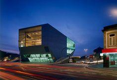 Casa da Música, Porto by Dutch architect Rem Koolhaas