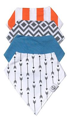 Baby & Toddler Bandana Drool and Feeding Bibs - CUTE Unisex Patterns, Double Layered Using Organic Cotton - Soft, SUPER Absorbent with Adjustable Snaps - Extra Long for Cleanliness! Baby Co, Baby Shower Gifts For Boys, Baby Feeding, The Hamptons, Bandana, Organic Cotton, Kids Rugs, Drool Bibs, Unisex