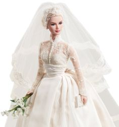 Barbie Collector # T7942 Grace Kelly Bride Silkstone: Amazon.de: Spielzeug