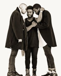 band of brothers @young_fathers are bringing the band to MEZZ NEXT FRIDAY 4.15 with @hxltmusic! get on this. tickets are moving QUICK. find them at mezzaninesf.com by mezzaninesf