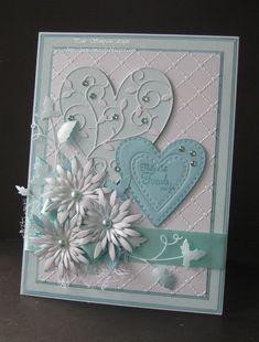 Pams-crafts | docrafts.com #WeddingCards