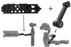 Support universel + bras tendu assemblée PRO Version pour DJI OSMO poche cardan dans Camera Drone Accessories de Appareils électroniques grand public sur AliExpress.com | Alibaba Group