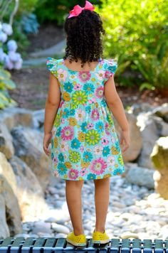 Image of Bohemian Babydoll Dress and Top PDF Pattern
