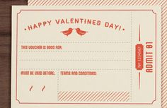 Printable Template valentine card and coupon My Funny Valentine, Homemade Valentines, Saint Valentine, Happy Valentines Day, Valentine Cards, Printable Lables, Free Printable Coupons, Free Printables, I Love My Hubby