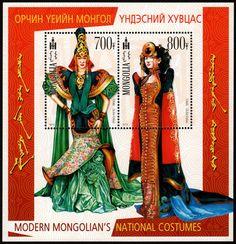 SS Modern Mongolian's National Costumes 2012