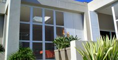 The Aluvent adjustable blade shutters comprises of low maintenance aluminium louvre blades enclosed within an aluminium frame. Aluminium Shutters, Office Decor, Blinds, Curtains, Home Decor, Jalousies, Blind, Interior Design, Draping