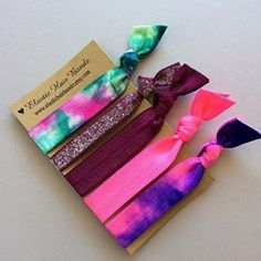 The Stassi Elastic Hair Tie Ponytail Holder Collection by Elastic Hair Bandz on Wanelo Tie Headband, Headband Hairstyles, Cute Hairstyles, Headbands, Cheer Hair, Hair Supplies, How To Tie Dye, Elastic Hair Bands, Ponytail Holders