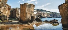 Just south of Santa Cesarea Terme, appears the small cove of Porto Miggiano, dominated by the sixteenth century watchtower. One can reach the small beach surrounded by rocks simply walking along a tr...