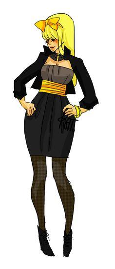 COMIC BOOKS MEET FASHION WEEK WITH KATRINA NAVARRO'S SUPERHERO DESIGNS: Black Canary