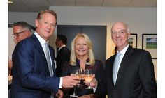 IMI Worldwide Properties hosted an exclusive event celebrating the kickoff of the Viceroy Anguilla Residences, 25 stunning beachfront homes and villas with privileged access to all resort amenities. Pictured: Mike Collins, Janet Martin, Bill Staudt.