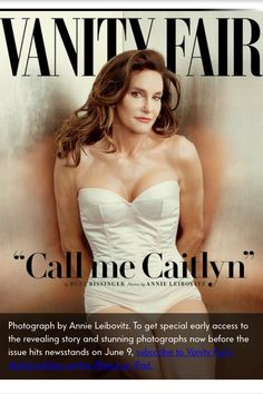 Introducing #CaitlynJenner Also Known #BruceJenner.... Can See Photo Shoot On #YouTube I Saw On Yahoo Screen June 1, 2015 ...  JULY 2015 Issues Vanity Fair's 22-page cover story features stunning Annie Leibovitz photos of Caitlyn Jenner, formerly known as Bruce, along with revealing new details. Here's a preview of the story. BY #VANITYFAIR PHOTOGRAPHS BY ANNIE LEIBOVITZ FOR IMMEDIATE RELEASE NEW YORK, N.Y.—Speaking publicly for the first time since completing gender transition, Caitlyn…