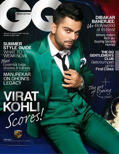 Virat Kohli para GQ India