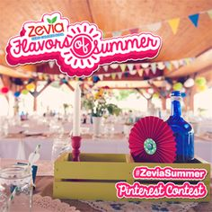 Our Zevia Flavors of Summer #contest is open!! Vote for your favorite blogger's #ZeviaSummer then enter your own  Zevia Flavors of Summer pinterest board  for a chance to win $500!