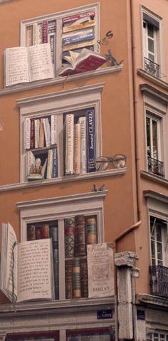 murs peints a Lyon France | Visite des murs peints Parc acrobatique France Aventure Lyon en segway