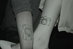 I love the simple outline and of course the fact that it's a camera;)