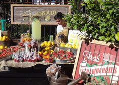The Grounds of Alexandria - Gemma Warriner. The Grounds Of Alexandria, Flower Market, Signage, Christmas Holidays, Rustic, Table Decorations, Bar, Google Search, Home Decor