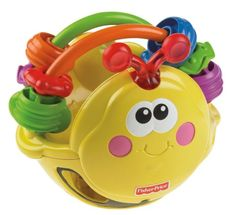 FisherPrice Go Baby Go Gigglin Bee Ball *** Click image to review more details.
