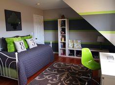 Farbgestaltung fürs Jugendzimmer - 100 Deko- und Einrichtungsideen ...