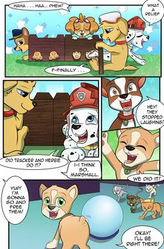 Paw Patrol Characters, Baron, Pup, Nintendo, 18th, Deviantart, Comics, Painting, Fictional Characters