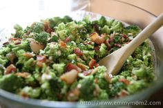 Best Broccoli Salad Ever  easy to make and always eaten all gone at any party I have taken it too