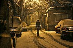 Lonely walk by Joe Olsson