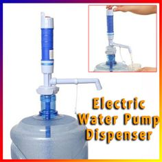 Electric Battery-Operated Pump Convenient Dispenser Bottled Drinking Water Pump