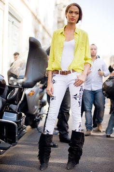 Embellished Navajo jeans from Sold Denim