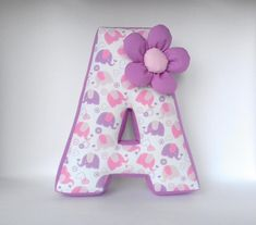 Baby shower gift Nursery decor Purple letter pillow A Baby name Pink Girly decor. : Baby shower gift Nursery decor Purple letter pillow A Baby name Pink Girly decor Personalized pillow Letter cushion Teepee decor Shelf Decor Initial Pillow, Letter Cushion, Letter Pillow, Purple Nursery Decor, Sewing Crafts, Sewing Projects, Pink Cushions, Personalized Pillows, Baby Pillows