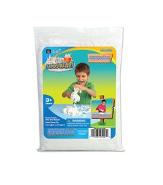 Play Visions® Sands Alive!™ 2lb. Bag This stuff is soo much fun, you can even add drops of food coloring and color the sand...Joanne's Fabrics has is on sale right now for $8.99 for 2#s It sticks together so you can mold with it, and it will crumble apart and you can rebuild. Lots of fun.