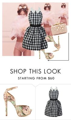 innocence.. by nektaria-frantzh on Polyvore featuring Betsey Johnson and Elie Saab