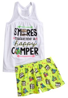 S'mores Pajama Set