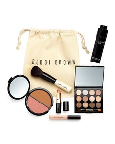 Limited+Edition+Sandy+Nudes+Collection+Set+by+Bobbi+Brown+at+Bergdorf+Goodman. #beauty #makeup #cosmetics #beautyinthebag