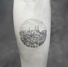 23 Amazing Tattoos by the Talented Mr. K - - 23 Amazing Tattoos by the Talented Mr. K Tattoo 23 Erstaunliche Tattoos des talentierten Mr. Dot Tattoos, Circle Tattoos, Bild Tattoos, Body Art Tattoos, Sleeve Tattoos, Buddha Tattoos, Detailliertes Tattoo, Berg Tattoo, Armband Tattoo