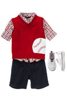 "uh oh...gymboree came out with their baseball line ""out to the ballgame""...and i officially know where i'll be this weekend! :)"