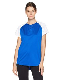 445941b4 Women's Dura-Light Fastpitch/Softball Jersey - Royal/White - C911XVM0AQ9