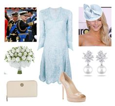 Princess at a Naval Base with Father and Grandfather Christening a Ship in her name Royal Engagement, Engagement Outfits, Royal Fashion, Fashion Looks, Fashion Sets, Fit N Flare Dress, Fit And Flare, Royal Clothing, Girl Clothing