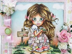 Mindy: Saturated Canary ~ SC Turtle Lurv ~ Copics not listed; Paper: Spring Love-Digi Papers