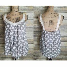 Paisley Crochet Tank · Joonam Boutique · Online Store Powered by Storenvy