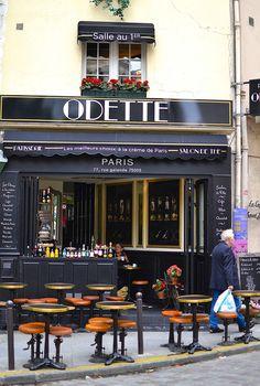 odette bakery and desserts. paris