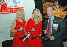 2009 American Heart Association Go Red for Women Luncheon honorees; Merryl Siegel, MPA, Executive Director of the North Shore- Long Island J...