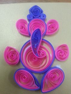 Small Ganesha Quilling